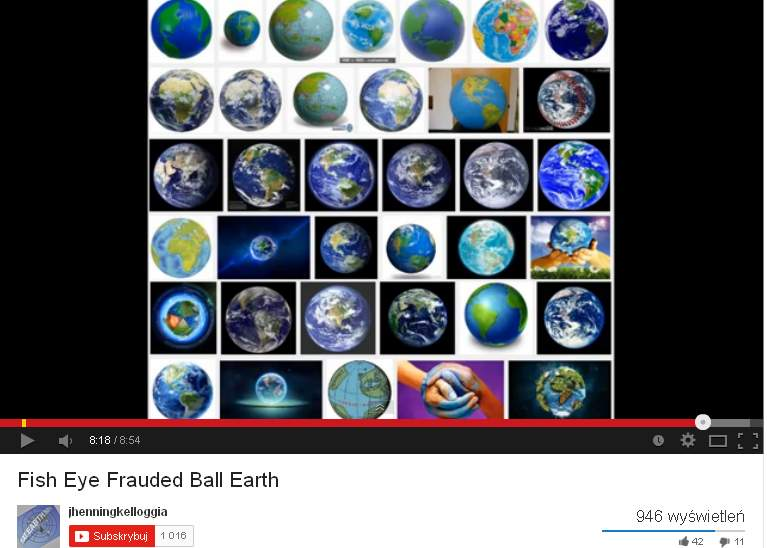 Frauded Ball Earth