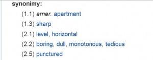 flat-definicja-horyzontalny