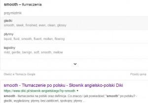 smooth- tłumaczenie